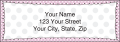 Pretty in Pink Labels - 4 - hover to see enlarged image