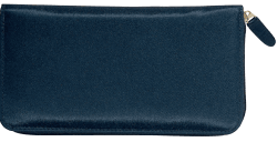 Elite Microfiber Black Checkbook Cover