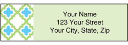 Patterned Address Labels