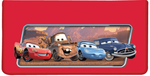 Disney•Pixar Cars Checkbook Cover - enlarged image