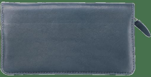 Elite Zippered Checkbook Cover - enlarged image