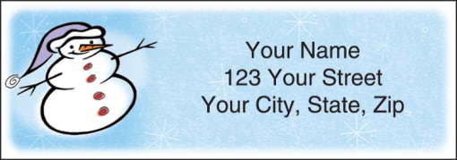 Snow Days Labels - enlarged image