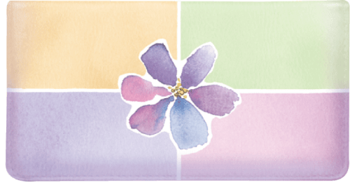 Watercolors by Kathy Davis Checkbook Cover - enlarged image