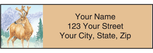 Wildlife Adventure Labels - enlarged image