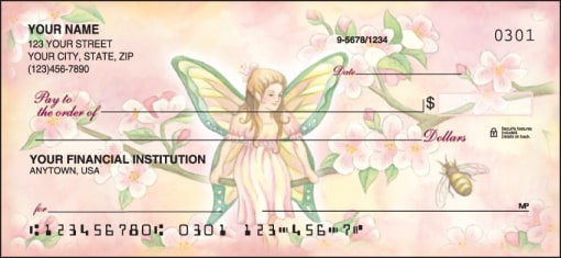 Garden Fairies Checks - enlarged image