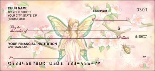 Garden Fairies Checks - enlarged image