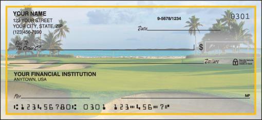 Golf Escapes Checks - enlarged image