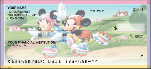Disney Mickey's Adventures Checks - enlarged image