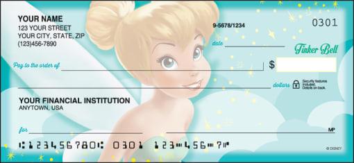Disney Tinker Bell Checks - enlarged image