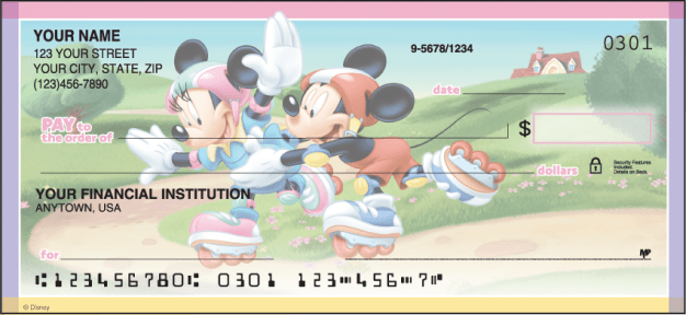 Disney Mickey's Adventures Checks - click to view product detail page