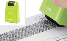 Shred or use a Guard Your ID Stamper to protect documents printed with sensitive information.