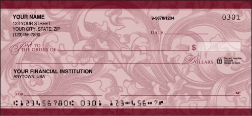 Renaissance Scroll Checks - click to view product detail page