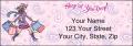 Pampered Girls™ Labels - 1 - hover to see enlarged image