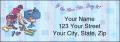 Pampered Girls™ Labels - 2 - hover to see enlarged image
