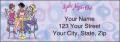 Pampered Girls™ Labels - 4 - hover to see enlarged image