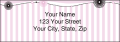 Pretty in Pink Labels - 1 - hover to see enlarged image