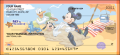 Disney Mickey's Adventures Checks - 5 - hover to see enlarged image