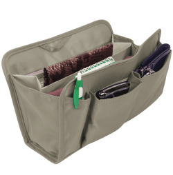 Large Gray RFID Purse Organizer - click to view product detail page