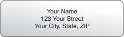 Clear Rolled Address Labels - click to view product detail page