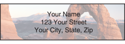 National Parks Address Labels - click to view product detail page