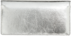 Silver Metallic Checkbook Cover - click to view product detail page