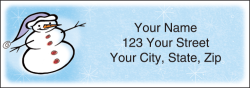 Snow Days Address Labels - click to view product detail page