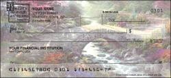 Serenity with verse Religious Checks - click to view product detail page