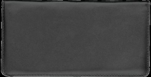 Black Standard Checkbook Cover - enlarged image