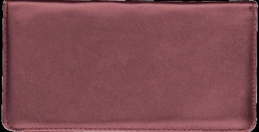 Burgundy Standard Checkbook Cover - enlarged image