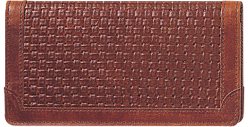 Classic Accents Checkbook Cover - enlarged image