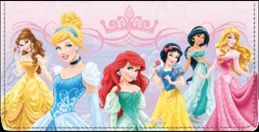 Disney Princess Checkbook Cover - enlarged image