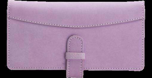 Lavender Checkbook Cover - enlarged image