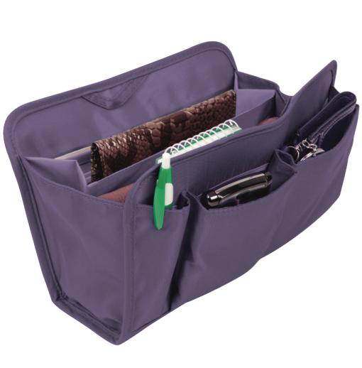 Purse Organizer - Purple, Medium - enlarged image