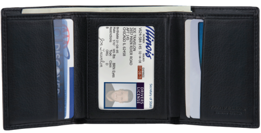 Men's Trifold Wallet - enlarged image