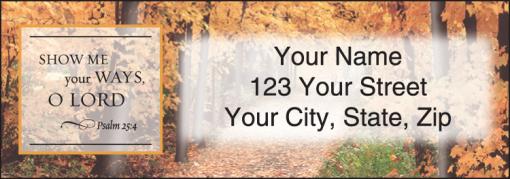 Scripture Labels - enlarged image