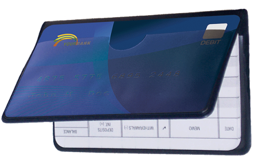 Vinyl Debit Organizer - enlarged image