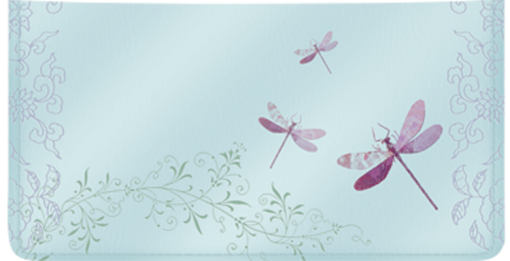 Zen Checkbook Cover - enlarged image