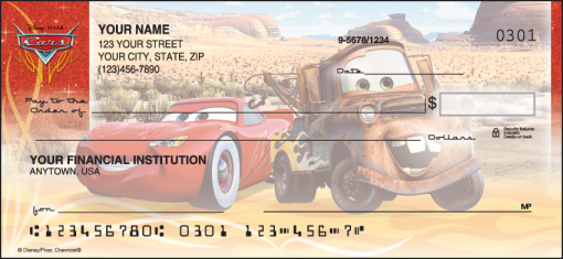 Disney•Pixar Cars Checks - enlarged image