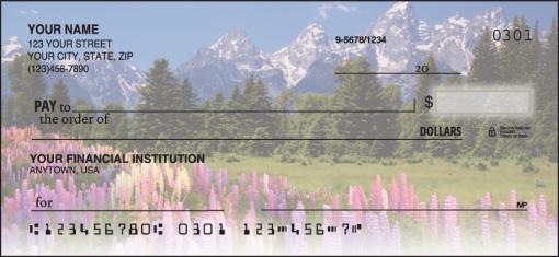Nature's Majesty Checks - enlarged image