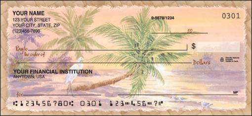 Palm Trees Checks - enlarged image