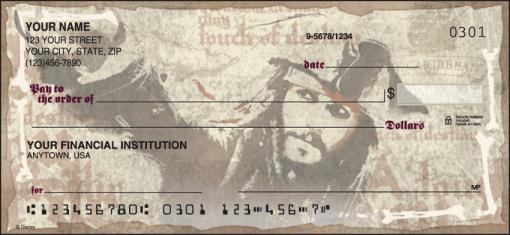 Disney Pirates of the Caribbean Checks - enlarged image