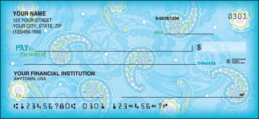Simply Paisley Checks - enlarged image