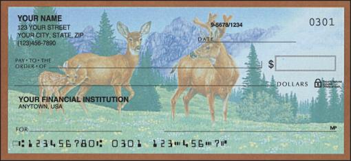 Wildlife Adventure Checks - enlarged image