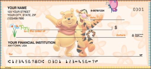 Disney Winnie the Pooh Checks - enlarged image