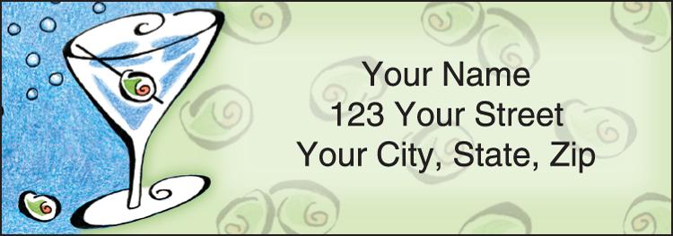 After Five Address Labels Set of 210