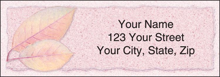 Autumn Leaf Address Labels - Set of 210