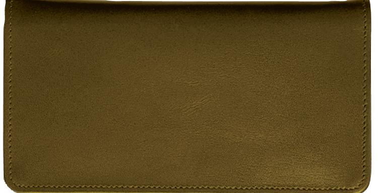 Chocolate Checkbook Cover