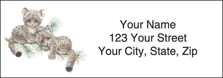 Endangered Young'uns Address Labels - Set of 210