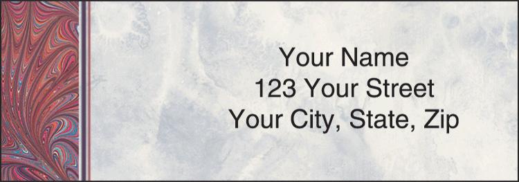 Executive Gray Address Labels - Set of 210