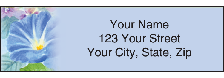 Flower Garden Address Labels - Set of 210